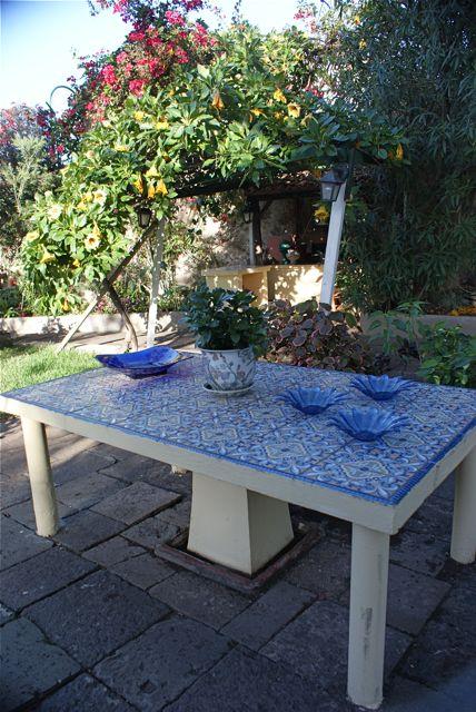 Dekket bord.