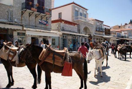 Esel er Hydras transportmiddel
