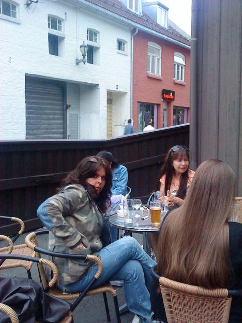 BloggeDamer med langt hår.